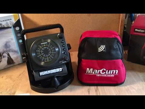 Humminbird ICE 35 Vs Marcum VX-1i