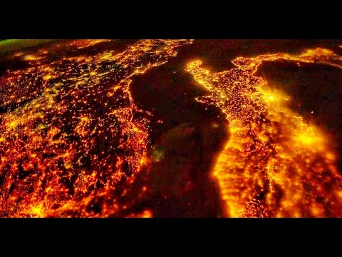 Planet Earth(Our Home) Space View Day/Night   A Beautiful Planet Documentary Video 4k