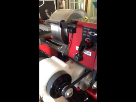 7x10 Mini Lathe Speed Reducer W Treadmill Motor Youtube