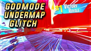 FORTNITE BATTLE ROYALE SEASON 8 NEW UNDER THE MAP GODMODE GLITCH!😳 #Fortnite #Glitch