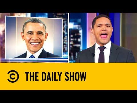 Barack Obama Launches A Podcast | The Daily Show With Trevor Noah
