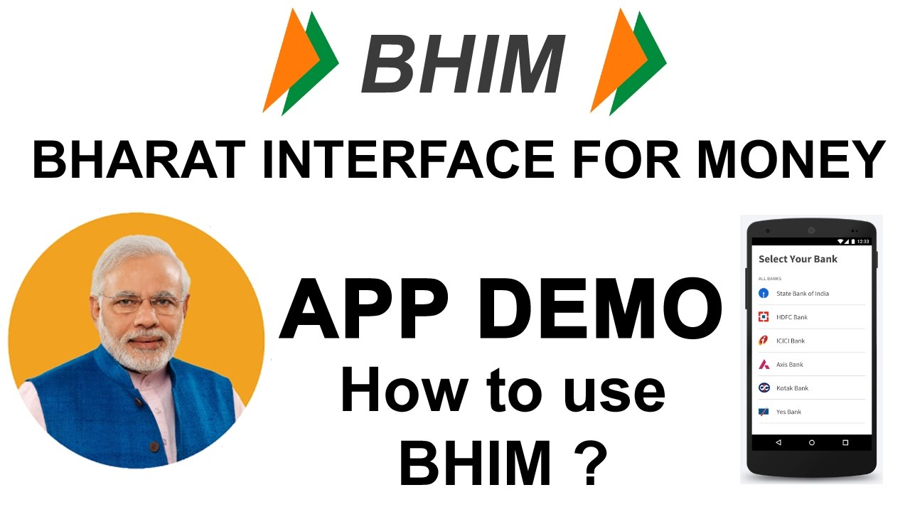 earn money by installing apps bhim app live demo how to install use bharat interface 7240
