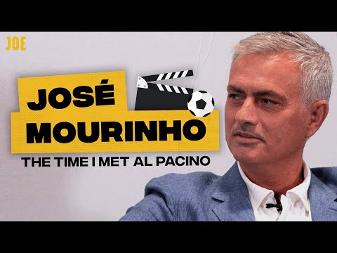 Jose Mourinho reveals his favourite films, actors and an add