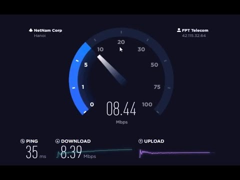 LIVING IN CAMBODIA 2017 INTERNET SPEED TEST OPENNET 6Mbps fiber optic broadband