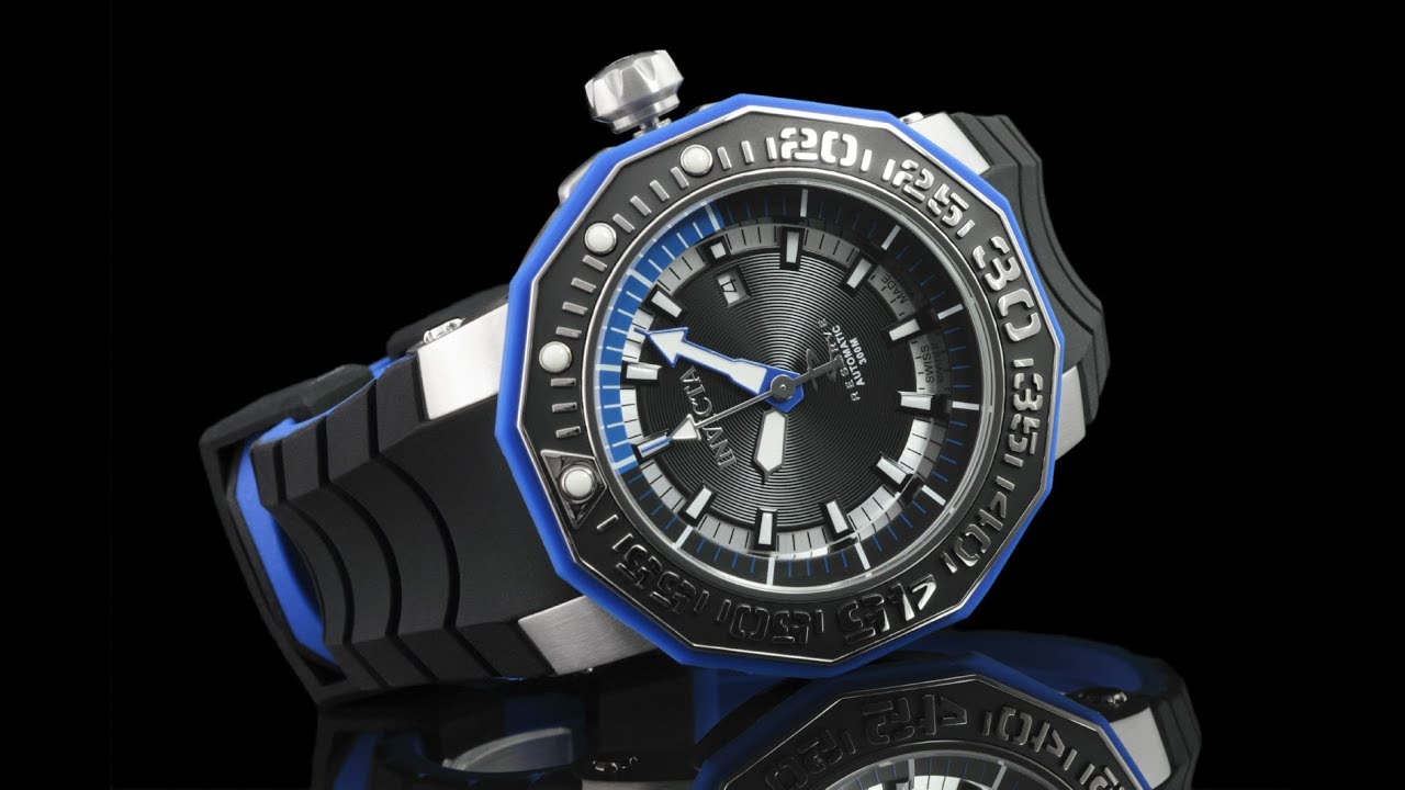 Invicta 23029 Men's Reserve 52mm Sea Monster Swiss Made SW200 Automatic  Silicone Strap Watch