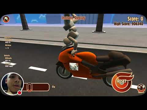 |I come back to YouTube and freaking fail miserably every freaking time!!!!|Turbo Dismount