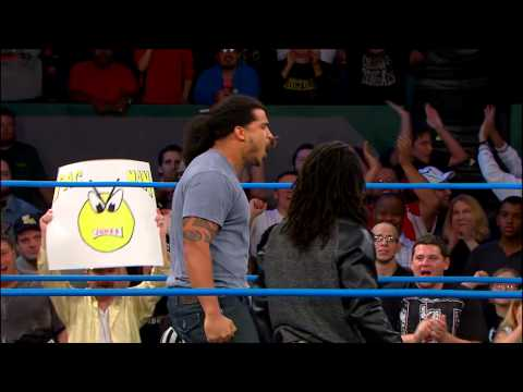 Pacman Jones hits the ring on TNA's IMPACT WRESTLING (November 7, 2013)