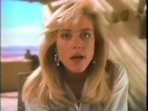 Ally Walker Nice 'n Easy Commercial 1990