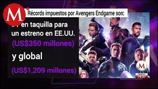 Los récords de Avengers Endgame