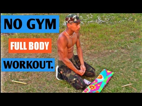 No Gym full body workouts - without WEIGHTS || ANISH FITNESS ||