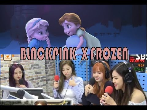 "BLACKPINK COVER ""FROZEN"" CHARACTER VOICE"