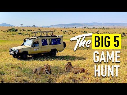 Masai Mara Safari Kenya Guide Day 2 | THE BIG 5 GAME HUNT | MUST WATCH