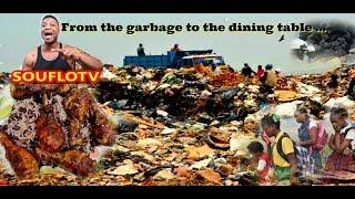Dumpster diving for dinner in Jamaica