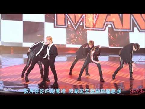 《繁中字幕》151231 방탄소년단 BTS - Perfect Man (fancam)
