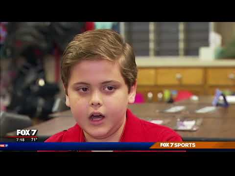 Austin area kid joins Scholastic News Kids Press Corp | 10/2017