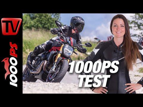 Ducati Monster 1200 S Test