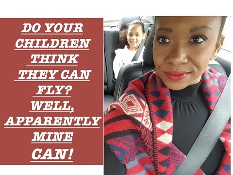 VLOGMAS| MY KIDS THINK THEY CAN FLY| STORY TIME***LONG**