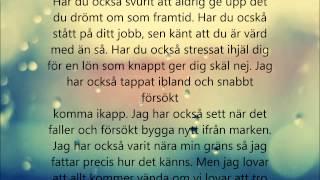 Albin och Kristin   Din soldat Lyrics