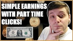 Get In Quick With Part Time Clicks & Make Money Online!