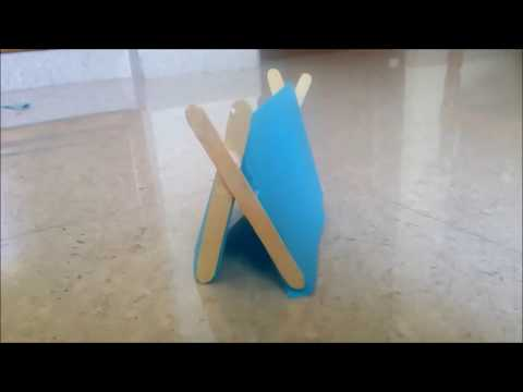 Paper Tent in 2 minutes