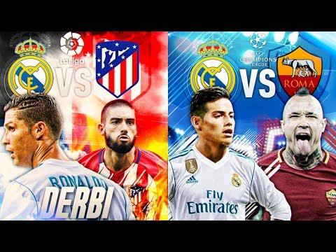 FIFA 18 | MODO CARRERA - REAL MADRID | ¡RECITAL & JAMES, EL HOMBRE CHAMPIONS! #39