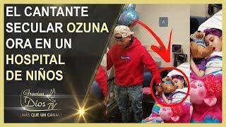 Ozuna LLORA y le RUEGA a DIOS por los NIÑOS que tienen CÁNCER