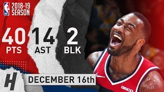 John Wall DESTROYS Lakers! Full Highlights 2018.12.16 - 40 Pts, 14 Ast, 2 Blocks!