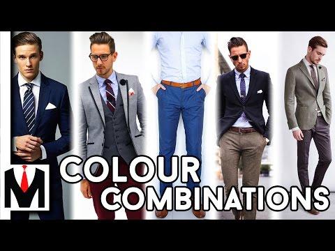 Best Clothing Colour Combinations For Men | 2016/7 Best Looks