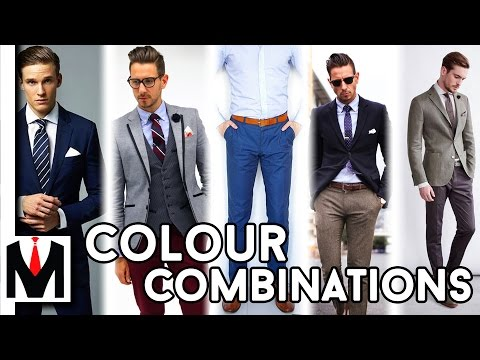 Best Colour Combinations For Clothes | Mens Colour Matching Guide