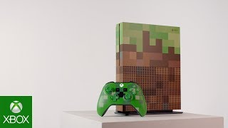 Xbox One S Minecraft Limited Edition Gamescom 2017 4K Reveal