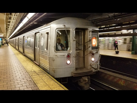 IND 6th Avenue Line: Riding Westinghouse R68 D Train 2646 From 125 St. To 36 St. Bklyn (4/13/17)