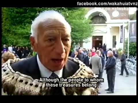 Part 1 of 3 History and legends of Te Waipounamu Waka Huia TVNZ 23 May 2010