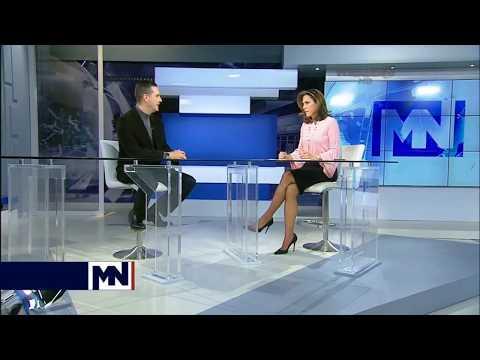 Entrevista de Yusnier Viera con Maria Elvira en MegaTV
