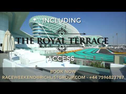 Rich List Presents to you, The Abu Dhabi Race Weekend