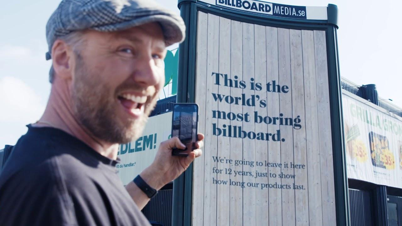 The World's Most Boring Billboard