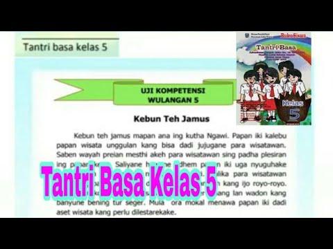 Uji Kompetensi Wulangan 5 Tantri Basa Kelas 5 Basa Jawa Youtube