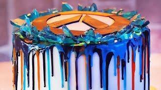 Overwatch Anniversary Drip Cake thumbnail