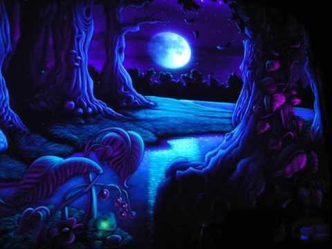 Marijuana Animated Wallpaper Psychedelic Dark Forest Mix D B ॐ Youtube