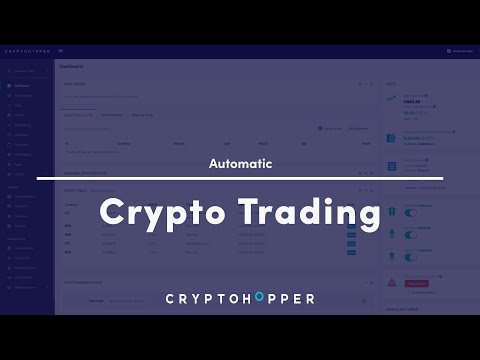 Automatic Crypto Trading – Cryptohopper