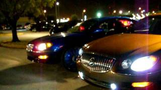 """Buick Lacrosse's Back to back on 24"""" dub floaters"""