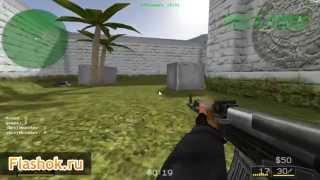 Flashok ru: онлайн игра Counter-Strike (Multiplayer). Обзор игры Контр-Страйк онлайн.