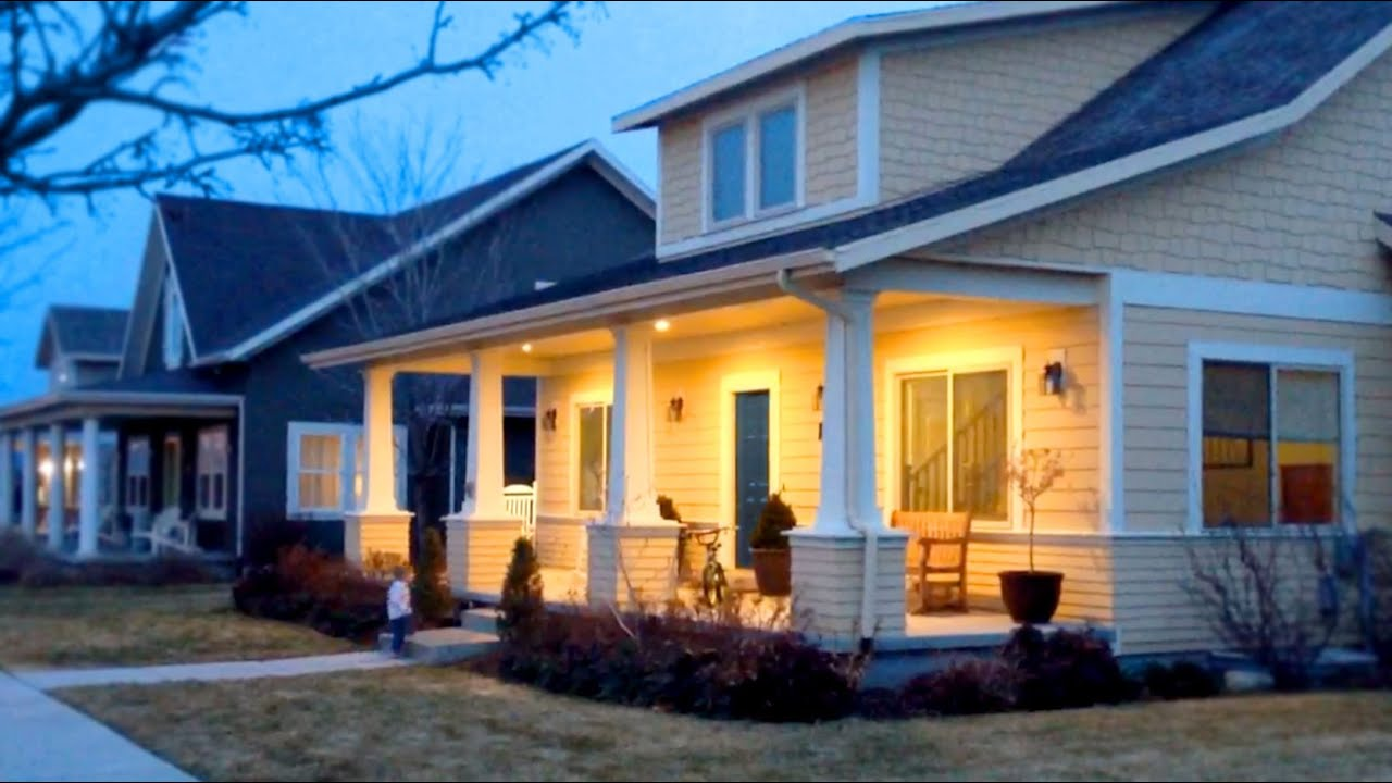 """Changing Porch Can Lights to 6"""" RECESSED LED - YouTube"""