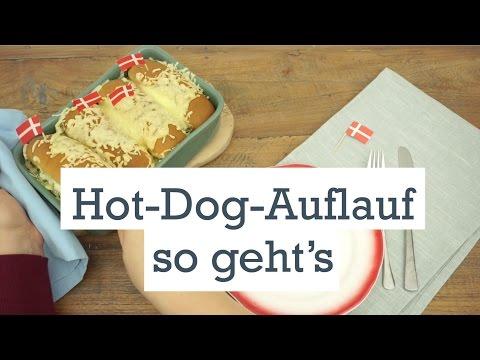 Hot-Dog-Auflauf - dänischer Klassiker mal anders!