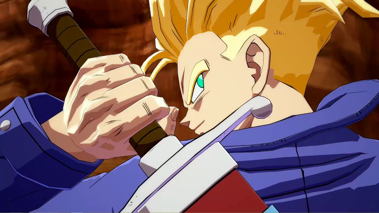 Trunks Dragon Ball Fighterz Wallpaper Engine Live Wallpaper
