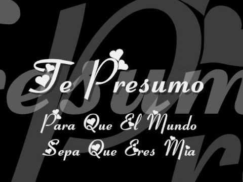 Banda El Recodo-Te Presumo (lyrics)