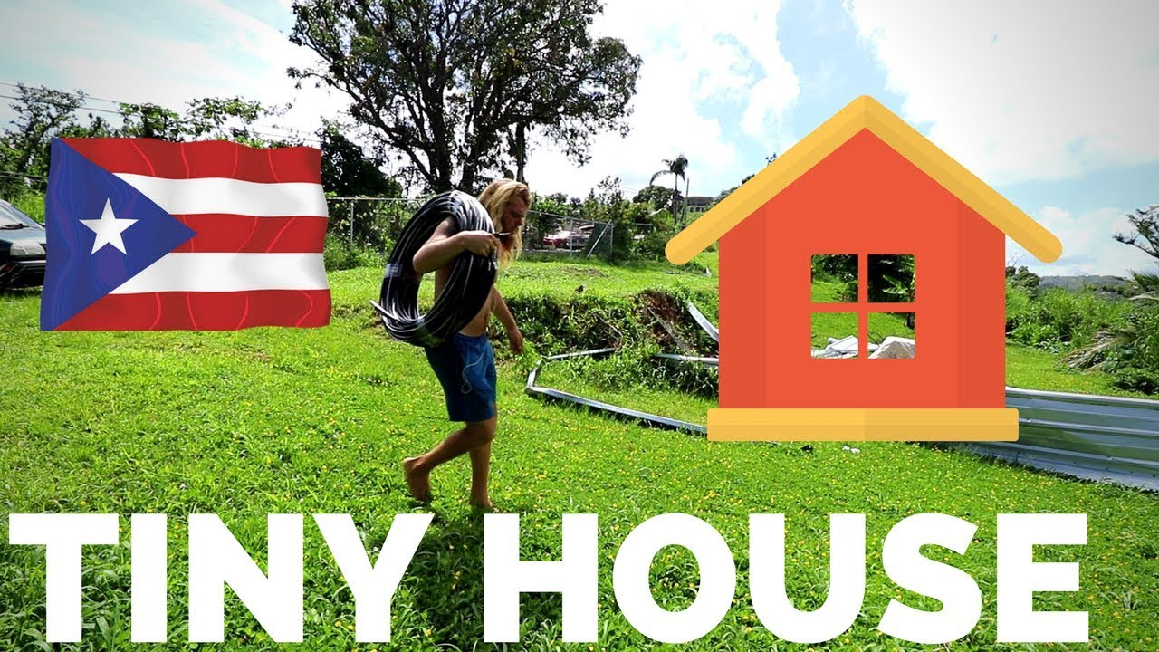 Running Power To My Tiny House In Puerto Rico Vlog 108