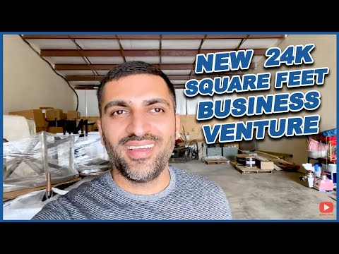 New 24000 Square Feet Business Venture | Back from the Camping Trip | Hamza_Ali