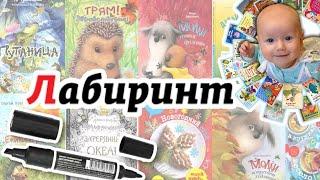 Лабиринт: много книг и КЛАССНЫЙ МАРКЕР! Покупки в Лабиринте
