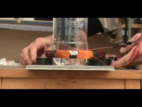 Levitating Coil Experiments