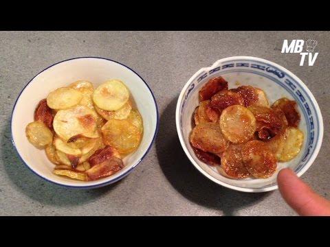 Chips maison au four avec huile youtube - Chips fait maison au four ...